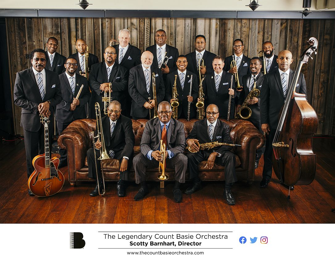 THE LEGENDARY COUNT BASIE ORCHESTRA UNDER THE DIRECTION OF SCOTTY BARNHART